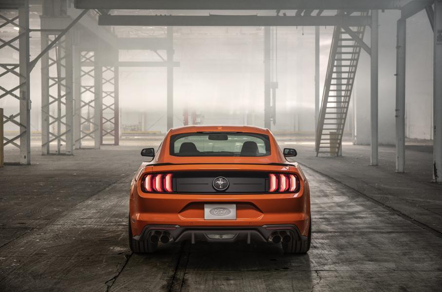 Ford Mustang оснастили «турбочетверкой» от Focus RS