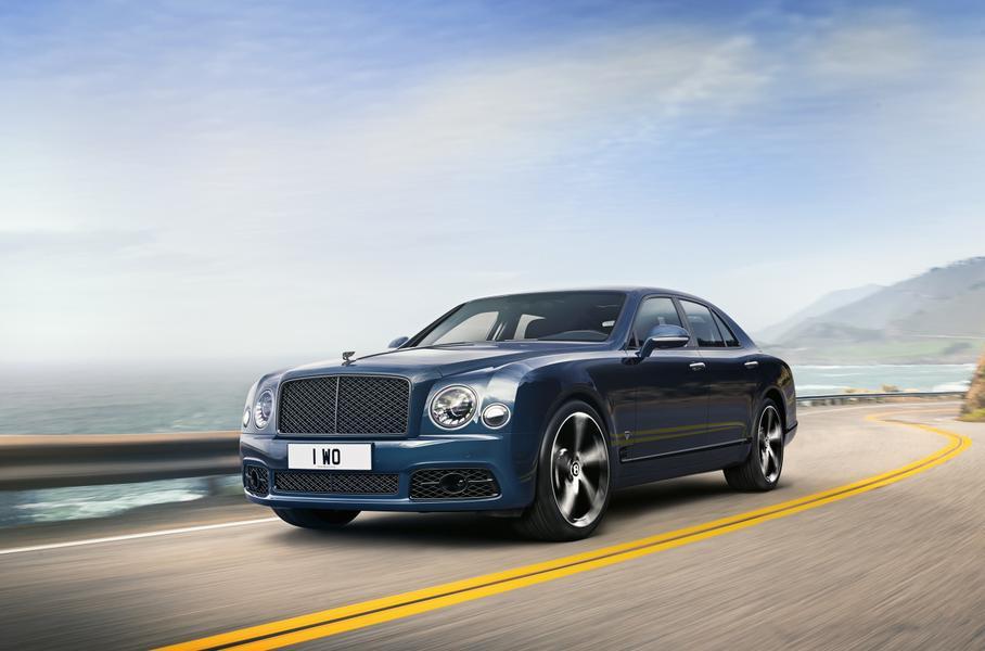 Bentley прекращает производство седана Mulsanne