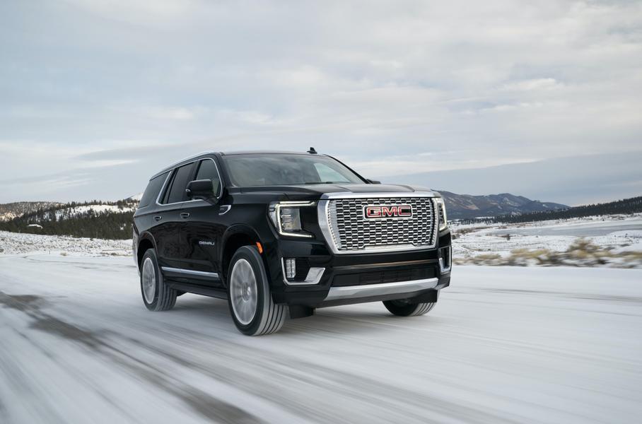 GMC представила внедорожник Yukon нового поколения