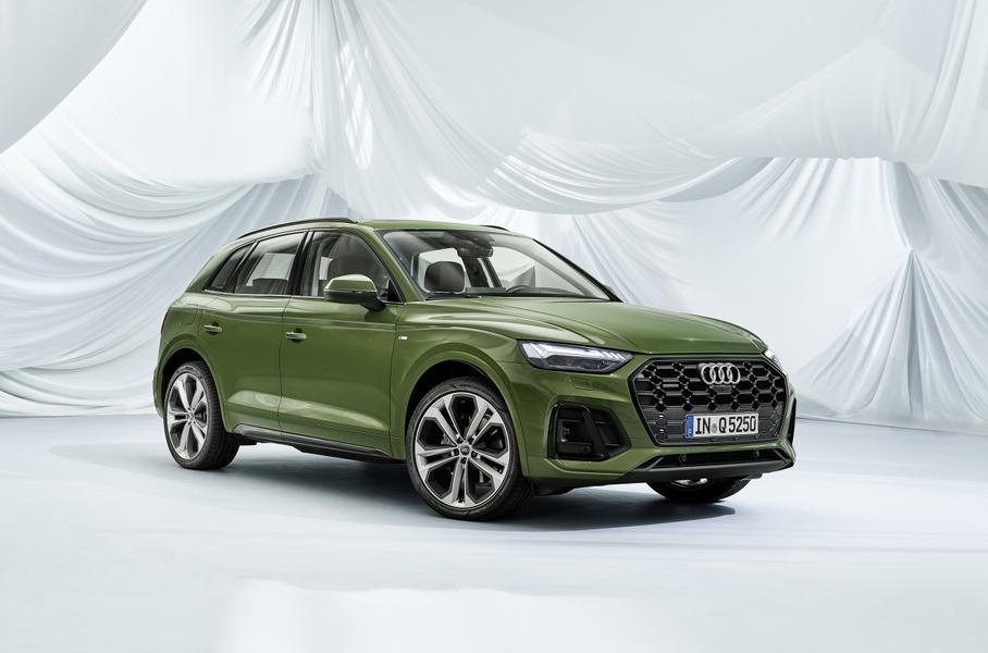 Обновленный Audi Q5 получил фонари со «световыми подписями»