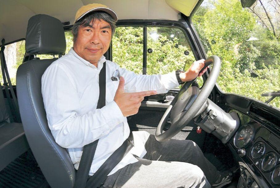 Японец протестировал и рассказал про UAZ Hunter