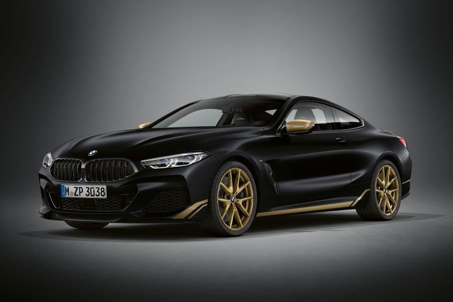 «Золотую» спецверсию BMW 8-Series оценили в рублях