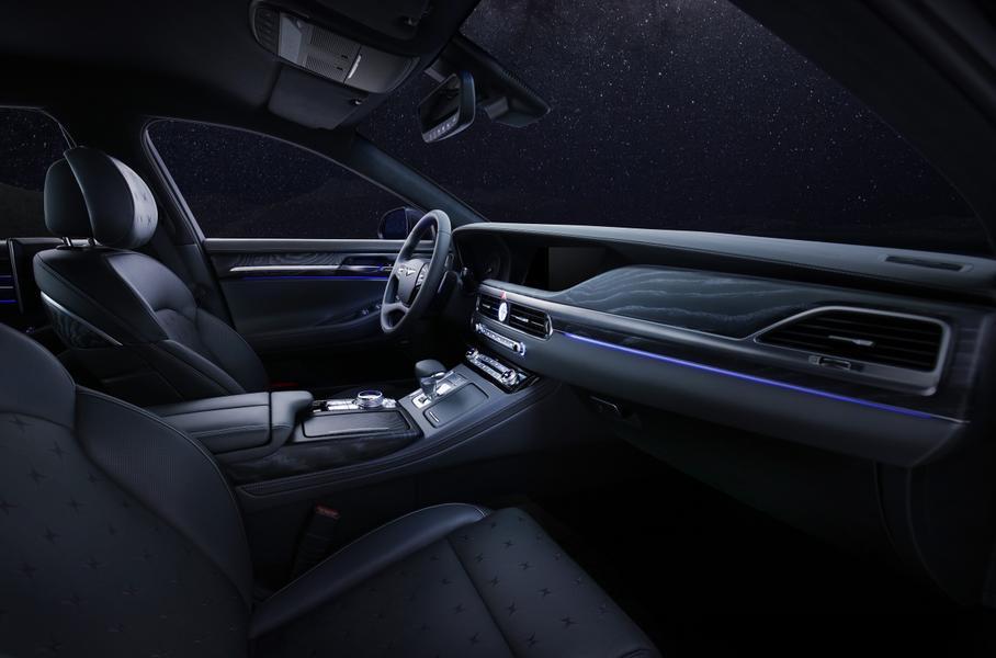 У седана Genesis G90 впервые появилась лимитированная версия