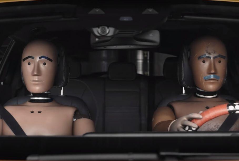 Mercedes-Benz создал сериал о жизни манекенов для краш-тестов
