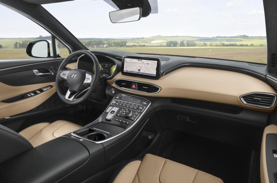 Hyundai раскрыл моторную гамму обновленного Santa Fe