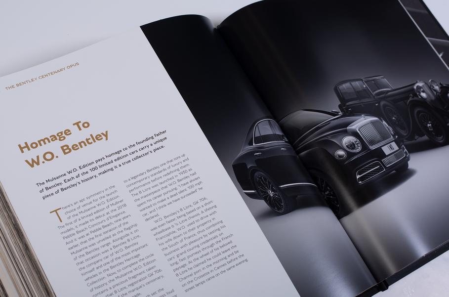 Книгу о Bentley оценили в цену кабриолета Continental GTC