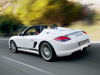 Porsche Boxster стал спайдером
