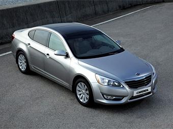 Компания Kia представила флагманский седан Cadenza