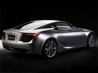Lexus переименует суперкар LF-A