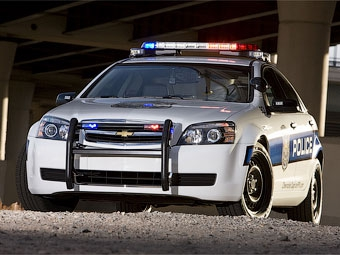 Концерн GM переделал Chevrolet Caprice в полицейский автомобиль