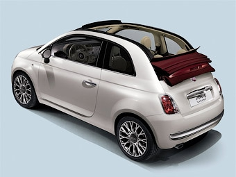 Открытая версия Fiat 500 полностью рассекречена