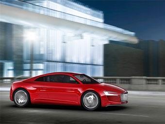 В Интернете появились рисунки электрического суперкара Audi R8 E-Tron