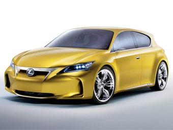 Фирма Lexus рассказала о компактном хэтчбеке LF-Ch