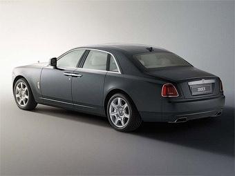 "Rolls-Royce Ghost разгонится до ""сотни"" за 4,9 секунды"