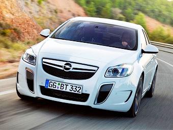 Cедан Opel Insignia OPC получил полный привод и 325-сильный V6
