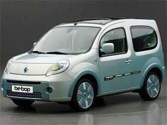 Компания Renault показала акционерам электрический фургон Kangoo