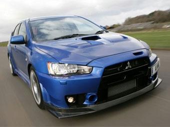 Компания Mitsubishi представила 400-сильную версию Lancer Evolution