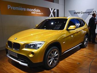 BMW превратит концепт X1 в серийную модель через год