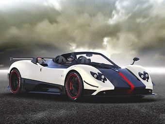 Компания Pagani лишила крыши 678-сильный суперкар Zonda Cinque