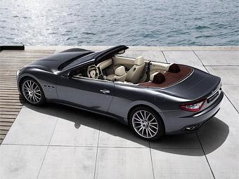 Компания Maserati представила GranTurismo без крыши