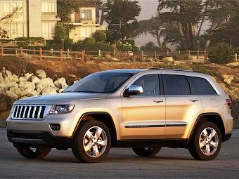Новый Jeep Grand Cherokee получил пневматическую подвеску