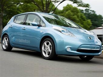 Компания Nissan показала свой первый массовый электрокар