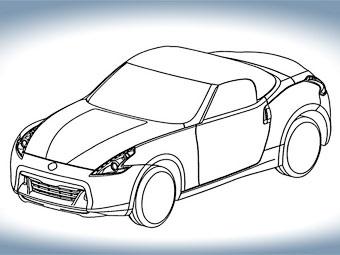 В интернете появились первые изображения открытого Nissan 370Z