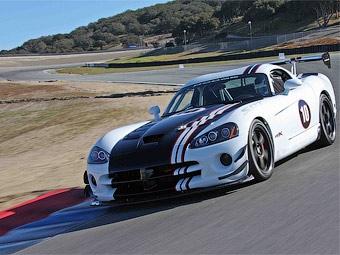 """Dodge представил 640-сильную спецверсию трекового """"Вайпера"""""""