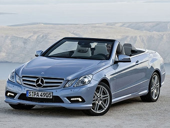 Немецкий журнал рассекретил кабриолет Mercedes-Benz E-Class
