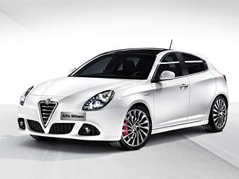 Появилось первое изображение нового хэтчбека Alfa Romeo