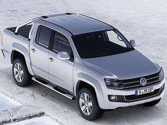 Немецкий журнал рассекретил пикап VW Amarok за месяц до премьеры