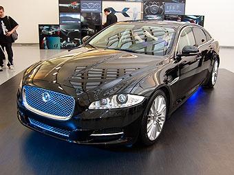 Новый Jaguar XJ привезут в Россию в апреле