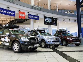 Три серийных внедорожника Mercedes-Benz съездят в Заполярье и обратно