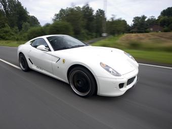 Немцы установили в Ferrari 599 GTB Fiorano гоночный мотор