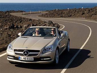 Новый родстер Mercedes-Benz SLK представили официально
