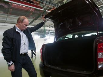 """Путин рекомендовал новую """"Ладу"""" дачникам"""