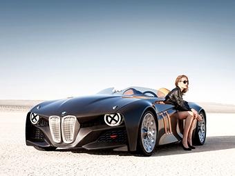 Юбилей классического спорткара BMW отметили карбоновым концепт-каром