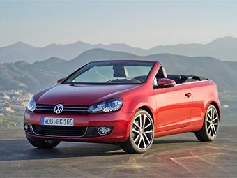 Volkswagen показал Golf без крыши