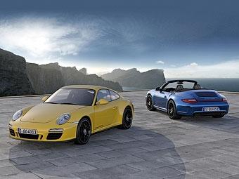 Компания Porsche оснастила топовый спорткар Carrera полным приводом