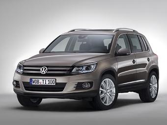 VW Tiguan получил обновленный интерьер