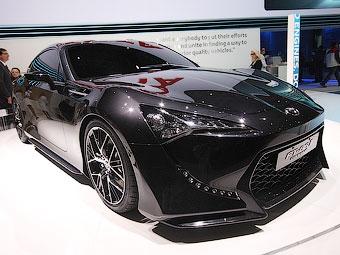 """Toyota показала новый вариант совместного с """"Субару"""" купе"""