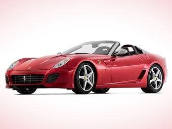 Ferrari посвятила открытую версию 599 GTB Fiorano ателье Pininfarina