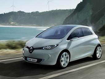 Электромобиль Renault ZOE сможет заряжаться за десять минут