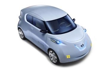 В Париже представили прототип массового электромобиля