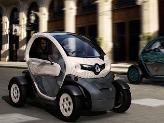 Через год Renault будет продавать двухместный электромобиль по цене скутера