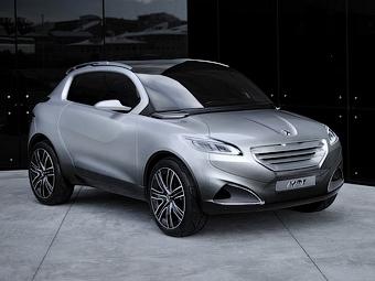 Марка Peugeot привезла в Париж будущего конкурента Nissan Juke