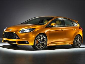 Компания Ford рассекретила новый Focus ST
