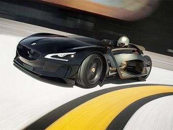 Электрический концепт-кар Peugeot выставят на Елисейских полях