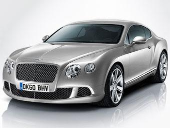 Рассекречено обновленное купе Bentley Continental GT