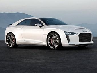 Audi привезла в Париж прототип 400-сильного компактного спорткупе